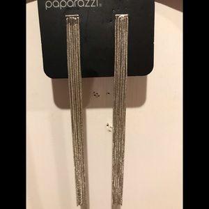 3 For $20-Silver Dangle Earrings